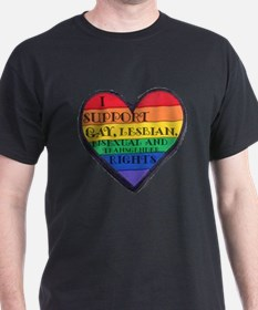ISupportGayRights T-Shirt