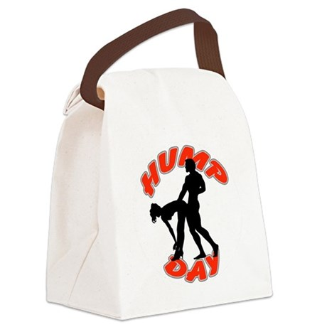 AC75 CP-24 WHITE CIRCLE Canvas Lunch Bag