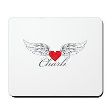 Angel Wings Charli Mousepad