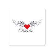 Angel Wings Charlie Sticker