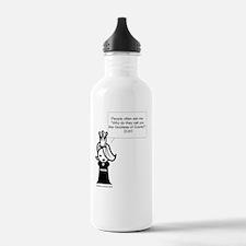 GoddessLogoBIGGEST Water Bottle