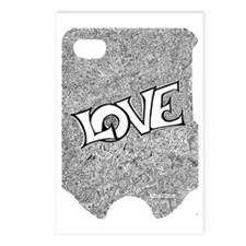 Love 443_iphone4_case Postcards (Package of 8)