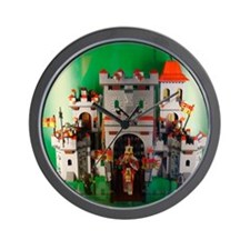 Lego-Castle-DSC05150 Wall Clock