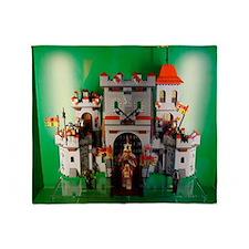 Lego-Castle-DSC05150 Throw Blanket
