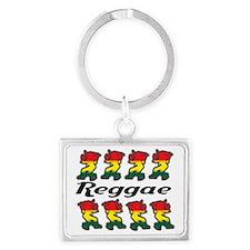 Reggae  Landscape Keychain