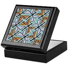 Repeating Butterflies Treasure Box