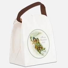 ornament_2 Canvas Lunch Bag