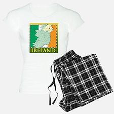 IrelandMapTShirt2 Pajamas