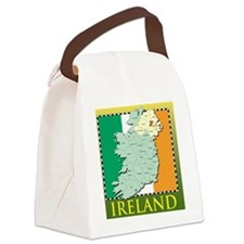 IrelandMapTShirt2 Canvas Lunch Bag