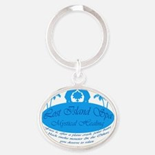 LostSpa iPhone 3G Hard Oval Keychain