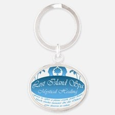 LostSpaFade iPhone 3G Hard Oval Keychain