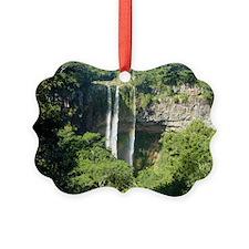 Chamarel Falls Mauritius Cal Ornament