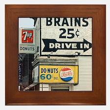 BRAINS 12x13.6 Framed Tile