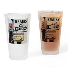 BRAINS 12x13.6 Drinking Glass