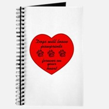 Pawprints On The Heart Journal