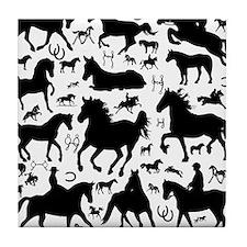 horsesmix Tile Coaster