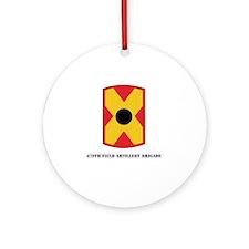 SSI - 479th Field Artillery Brigade Round Ornament