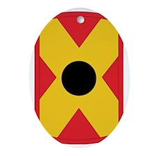 SSI-479TH FA BDE Oval Ornament