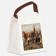 migrationsmallposter Canvas Lunch Bag