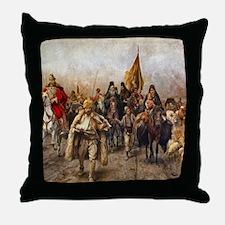 migrationsmallposter Throw Pillow