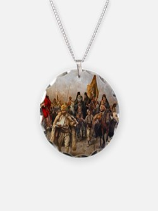 migrationsmallposter Necklace