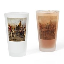 migrationsmallposter Drinking Glass