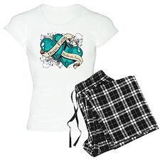 Gynecologic Cancer Hope Hearts Pajamas