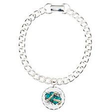 Gynecologic Cancer Hope Hearts Bracelet
