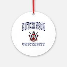 HUTCHINSON University Ornament (Round)