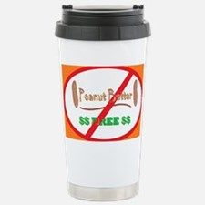 Peanut Free 5x3oval_sticker Travel Mug