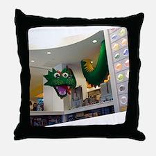 Lego-Dragon01_DSC05145 Throw Pillow