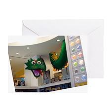Lego-Dragon01_DSC05145 Greeting Card