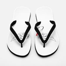 Angel Wings Chaya Flip Flops