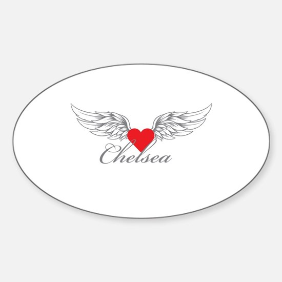 Angel Wings Chelsea Decal
