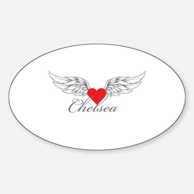 Angel Wings Chelsea Decal