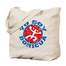Yo Soy Boricua Blue-Red Tote Bag