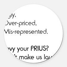 prius2 Round Car Magnet