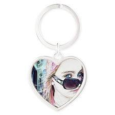 ayla3 Heart Keychain