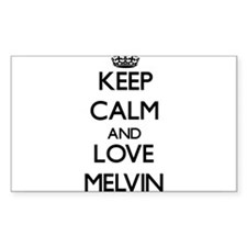 Keep Calm and Love Melvin Decal