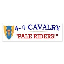 4th Squadron 4th Cav cap1 Bumper Sticker