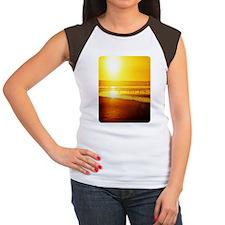 459_ipad_case SunsetNse Women's Cap Sleeve T-Shirt