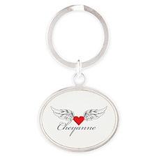 Angel Wings Cheyanne Keychains