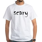Scary White T-Shirt