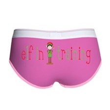 Elf in Training Women's Boy Brief