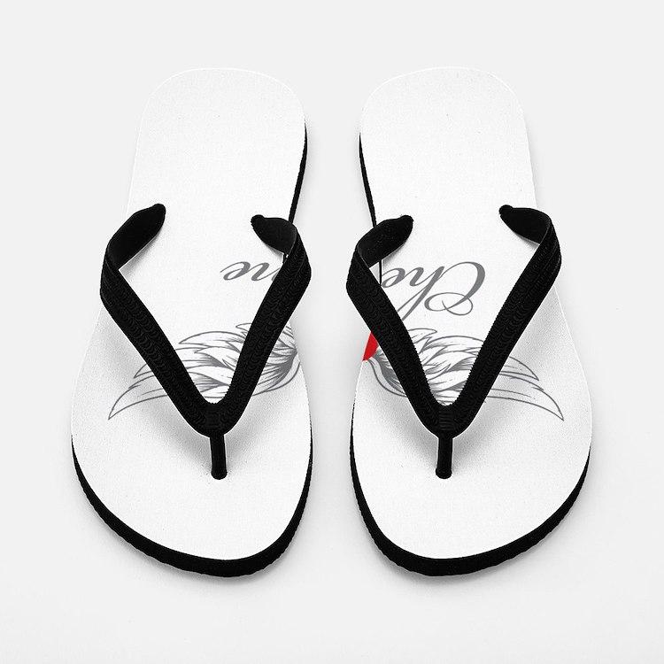 Angel Wings Cheyenne Flip Flops