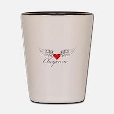 Angel Wings Cheyenne Shot Glass