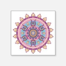 """MAY FLOWER-1 copy Square Sticker 3"""" x 3"""""""