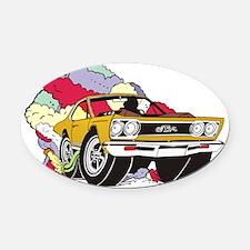 gtx. Oval Car Magnet