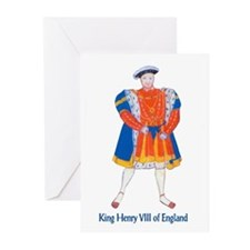 King Henry VIII Note Cards (Pk of 10)