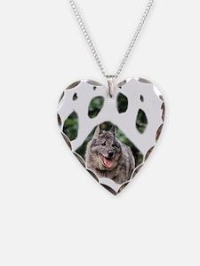 Wolfiepaw large Necklace